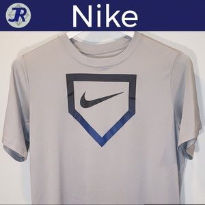 ⚾️Baseball Home Plate T-Shirt-Nike Dri-Fit (XL)